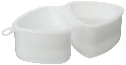 - Inomata 0787 Triangle Sushi Mold, White