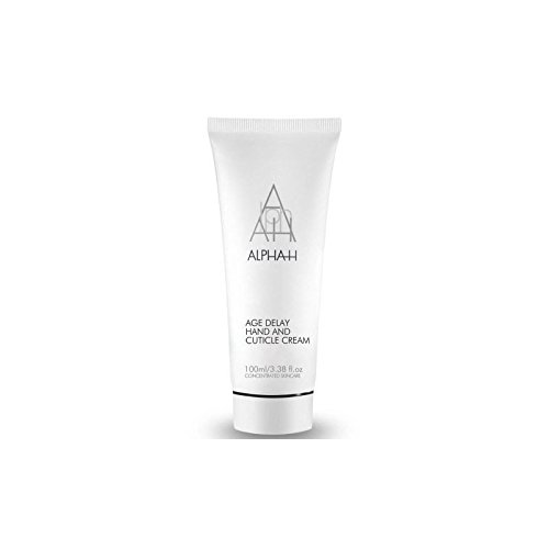 Alpha-H Age Delay Hand & Cuticle Care Cream (100ml) (Pack of 4)