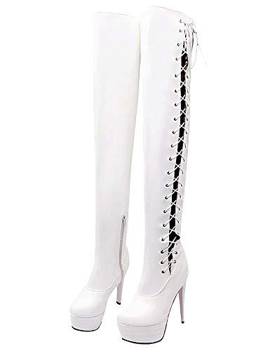 AIYOUMEI White Women's Women's Boot Classic Boot Classic White AIYOUMEI SwTExH7q