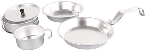 Coleman Camping Cookware | 5-Piece Aluminum Nesting Mess Kit (Fry Shut Up And Take My Money)