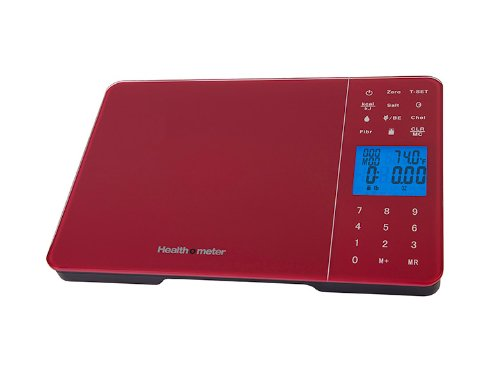 Health O Meter Diet Tracking Kitchen Scale 11 Pound/5000 Gra