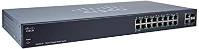 Cisco SG200-18 18-port Gigabit Smart Switch from CISCO SYSTEMS - ENTERPRISE