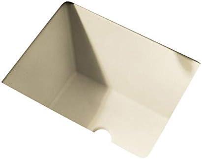 American Standard 610000.222 Boulevard Ceramic undermount Rectangular Bathroom sink, 20.25 L x 16 W x 8 H, Linen