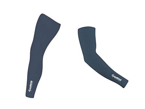 Roubaix Leg Warmers - Zimco Cycling Thermal Super Roubaix Winter Cycling Leg & Arm Fleece Warmers (Large)