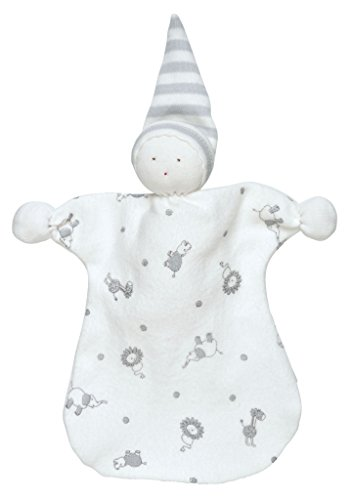Under The Nile Cotton Romper (Under the Nile Unisex Baby Sleeping Doll 8