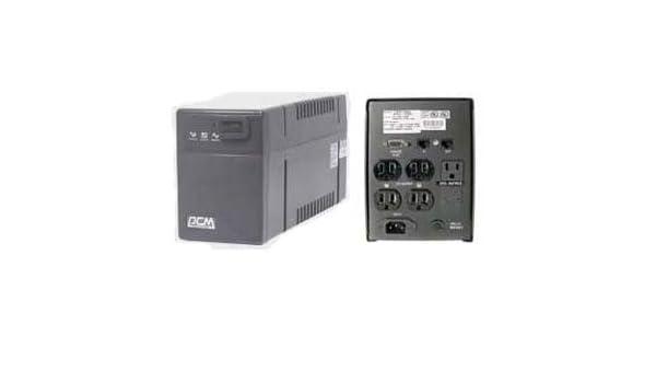 Powercom 1500VA BNT-1500AP UPS Uninterruptible Power Supply Battery Backup 110V