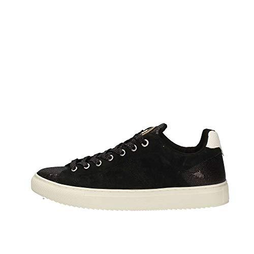 Nero Donna Lacci Scarpe Glitter Colmar Camoscio Bradbury Lux Sneakers 37 EqCa1