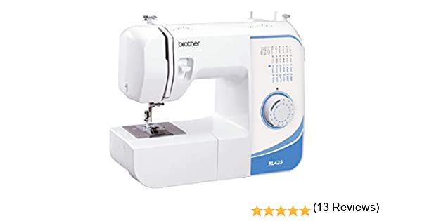 BROTHER Máquina de coser mecánica RL-425: Amazon.es: Hogar
