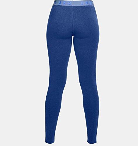 Under Armour Women's Favorite Leggings, Formation Blue /Formation Blue, X-Small by Under Armour (Image #3)