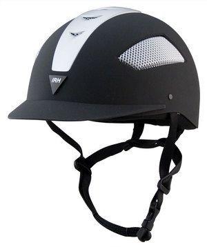 IRH Elite ATH Helmet - Size:07 Color:Black/Black (Irh Ath Helmet)