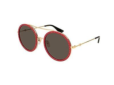 Gucci GG0061S Women's Round Sunglasses Size 56 mm