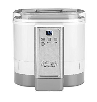 Cuisinart CYM-100 Electronic Yogurt Maker with Automatic Cooling (Renewed) by Cuisinart