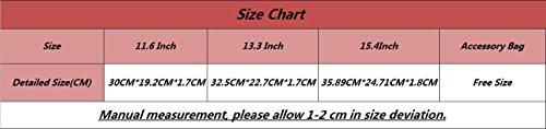 Housse Portable Laptop Pouse Pink 6 11 pour Macbook Sacoche YiJee Ordinateur Protection FxERnqwUUO