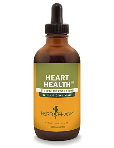 Herb Pharm Heart Health Liquid Herbal Formula with Hawthorn for Cardiovascular System Support - 4 Ounce