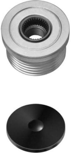 HELLA 9XU 358 038-411 Generatorfreilauf Anzahl der Rillen: 6 Riemenscheiben-/Ø: 49,1mm Gewindema/ß: M16x1,5