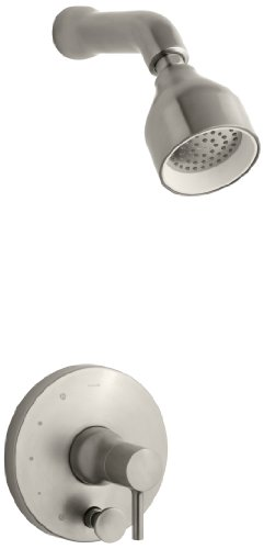KOHLER K-T8977-4-BN Toobi Shower Trim with Diverter, Valve Not Included, Vibrant Brushed Nickel