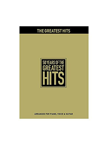 50 Years Of The Greatest Hits. Partituras para Piano, Voz y ...