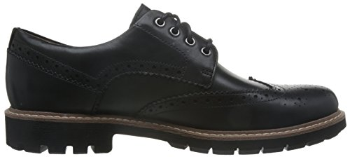Wing Leather Noir Derbys Batcombe Black Clarks Homme Tf5wg7wq