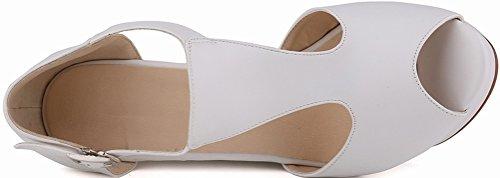 CFP - Zapatos con tacón mujer blanco