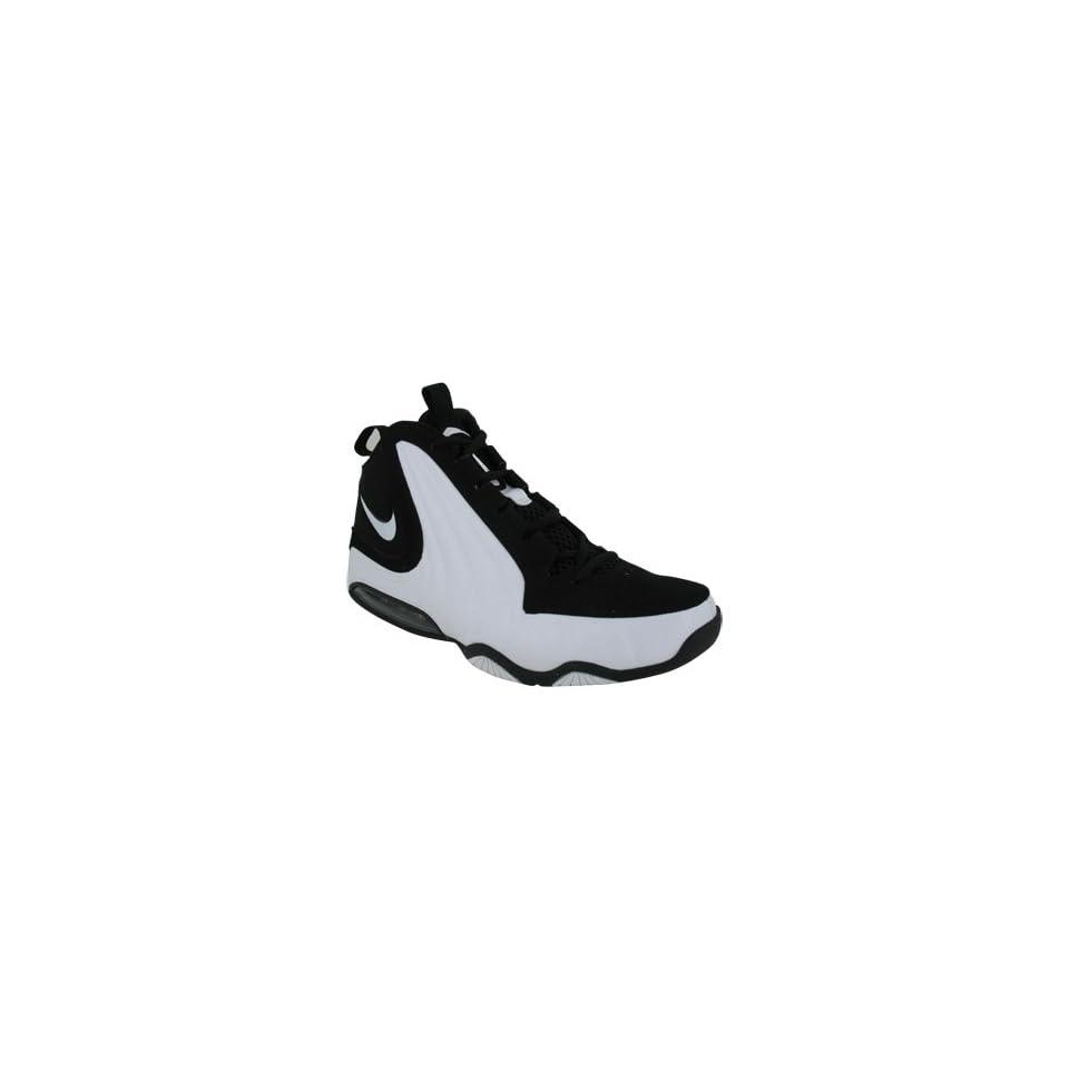 NIKE AIR MAX WAVY BASKETBALL SHOES 8.5 (BLACK/WHITE/WHITE) Shoes