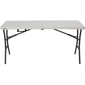 Beau Lifetime 5u0027 Essential Fold In Half Table