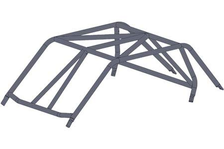 Ruffstuff RZR XP 1000 Roll Cage Kit by Ruffstuff Specialties (Image #3)