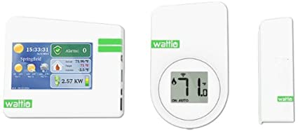 Wattio ENERGY PACK Blanco termoestato - Termostato (Blanco, 15 - 30 °C,