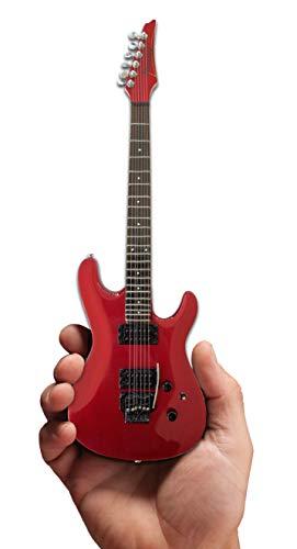 Joe Satriani Signature Candy Apple Red Miniature Guitar Replica Collectible