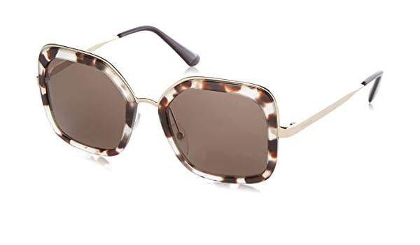 Prada UAO5S2 Gafas de sol, Spotted Opal Brown, 54 para Mujer ...