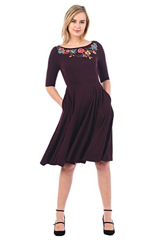 Misses Knit Dress - 9