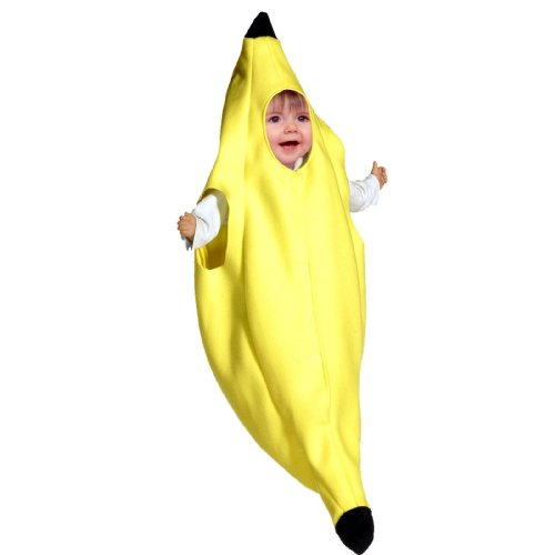 [Banana Bunting Costume (3-9 Months)] (Childrens Food Halloween Costumes)