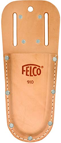 Felco Leather Holster (F 910) - Tool Pouch for Pruning Shears or Construction / Utility Tools