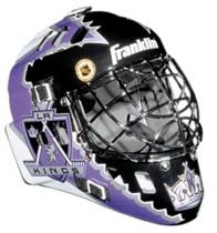 Los Angeles Kings Franklin Mini Goalie Mask