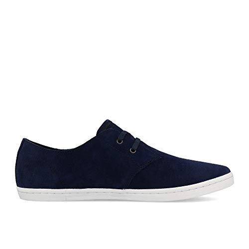 Carbon Suede Blue Low Perry 47 Fred Byron IzgxAqpw
