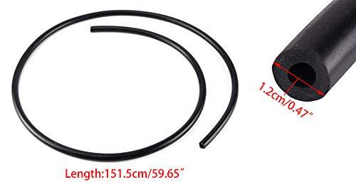 1//4 ID X 1//2 OD Black Fuel Gas Line Tube ATV Motorcycle Lawnmowers