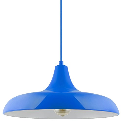 Blue Pendant Ceiling Light in US - 5