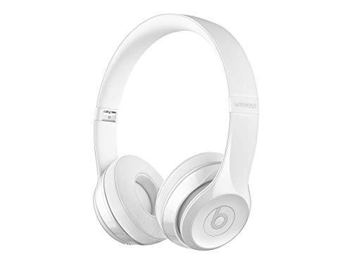 Beats Solo3 Wireless On-Ear Headphones – Gloss White (Renewed)