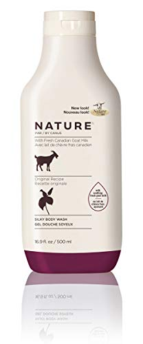 - Nature by Canus Silky Body Wash with Fresh Canadian Goat Milk, Original Recipe, 16.9 Fluid Ounce