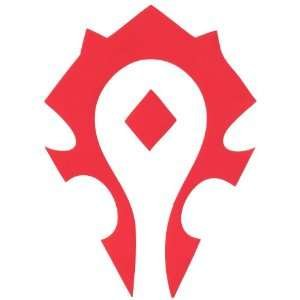 "Price comparison product image World Of Warcraft Horde Symbol Vinyl Decal Sticker / RED / Cars Trucks Vans SUV Laptops Wall Art / 6.5"" X 4"" / CGS690"