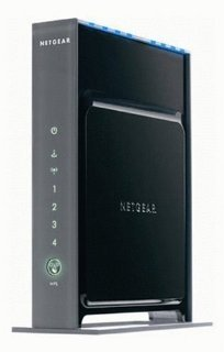 Netgear RangeMax WNR3500 802.11n Wireless LAN/Firewall 4-Port Gigabit Router