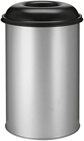 Hygieneprofi Top-Select feuerlösch Ender Papelera 200 litros, Aluminium/Schwarz: Amazon.es: Jardín