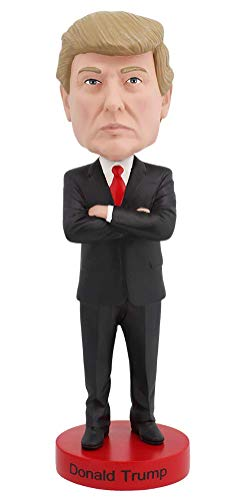 Royal Bobbles Donald Trump - Halo Bobble Head