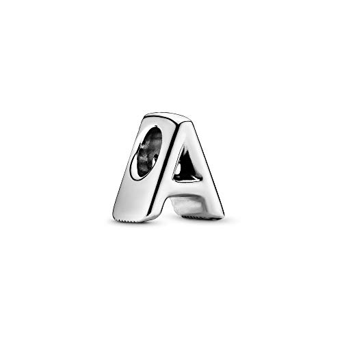 Pandora Jewelry - Letter A Alphabet Charm in Sterling Silver