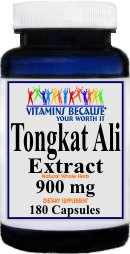 Tongkat Ali Extract 900mg(180 Capsules)