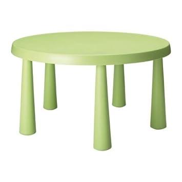 Ikea Mammut Kindertisch In Hellgrün Amazonde Küche Haushalt