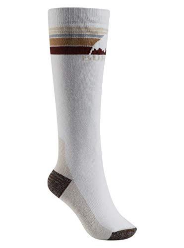 (Burton Women's Emblem Midweight Socks, Stout White, Small/Medium)