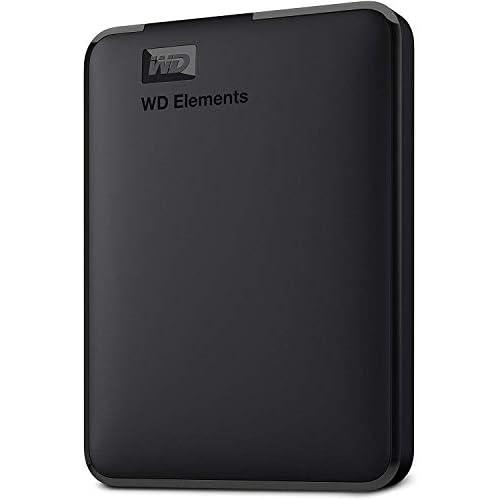 chollos oferta descuentos barato WD Elements Disco duro externo portátil de 1 TB con USB 3 0 color negro