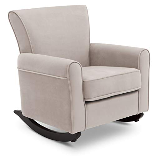 Delta Children Lancaster Rocking Chair Featuring Live Smart Fabric