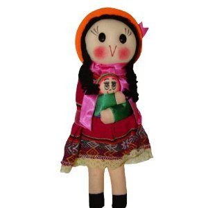 Peruvian Traditional Dressed Doll 9