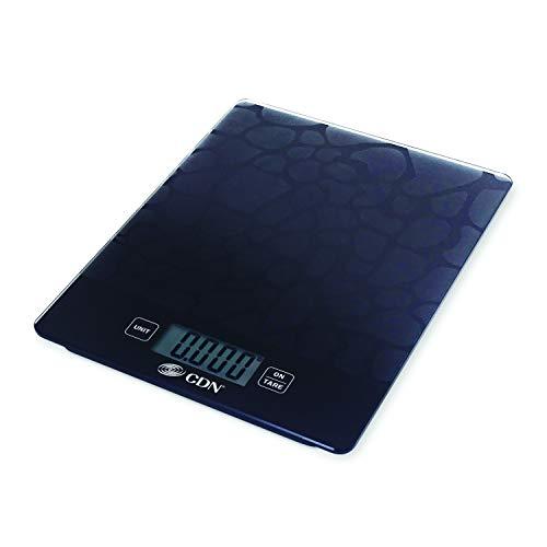 CDN SD1102-X ProAccurate Digital Glass Kitchen Scale